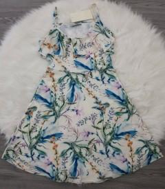 TOPSTARZZ Ladies Turkey Dress (LIGHT BLUE) (S - M - L)