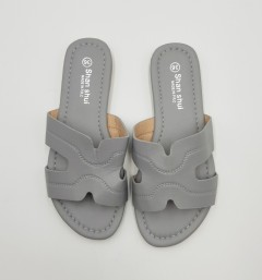 SHAN SHUI Ladies Sandals Shoes (GRAY) (36 to 41)