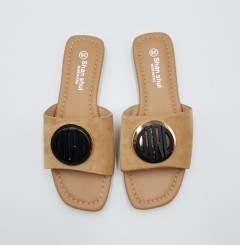 SHAN SHUI Ladies Sandals Shoes (BROWN) (36 to 41)