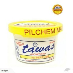 Tawas Powder For Remove The Bad Odors With Perfume Yellow(50g) (MA)