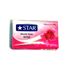 Star Beauty Soap Rose(125g) (MA)