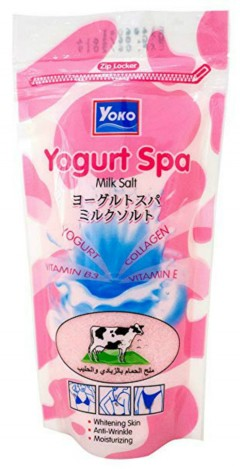 Yoko Yogurt Spa Milk Salt(pink) (300g) (MA)