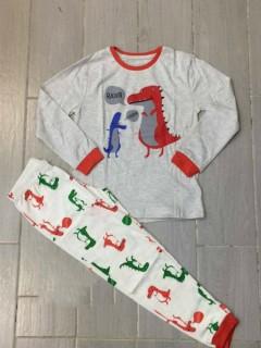 Generic Boys 2 Pcs Pyjama Set (GRAY) (2 to 10 Years)