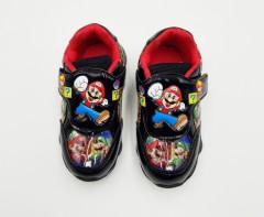 FASHION Unisex Shoes (BLACK) (28 to 33)