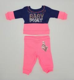BABY PHAT  Girls 2 Pcs Pyjama Set (NAVY - PINK) (NewBorn to 12 Years)