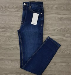 MANGO Ladies Jeans (BLUE) (32 to 44)