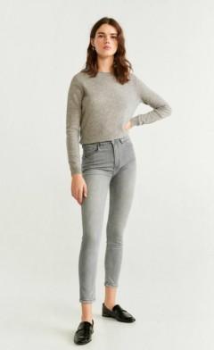 MANGO Ladies Jeans (GRAY) (32 to 44)