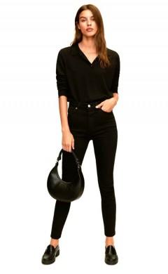 MANGO Ladies Jeans (BLACK) (32 to 44)