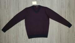 CELIO Mens Sweater (MAROON) (M - L - XL - XXL - 3XL)