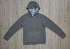 CEDAR WOOD STATE Mens Hoodie Zipper (GRAY) (XS - S - M - L - XL - XXL)