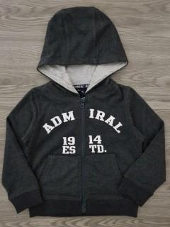 ADMIRAL Boys Hoody (DARK GRAY) (2 to 5 Years)