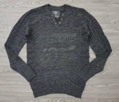 TOM TOMPSON Mens Sweatshirt (GRAY) (S - M - L - XL - XXL -3XL)