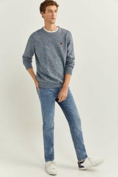 SPRINGFIELD Mens Sweater (GRAY) (S - M - L - XL - XXL - 3XL)