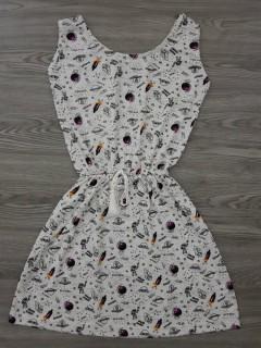 BLUSH Ladies Dress (WHITE) (S - M - L)