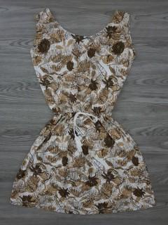 BLUSH Ladies Dress (CREAM) (S - M - L)