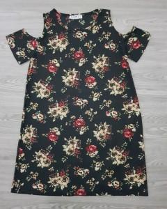 BLUSH Ladies Turkey Dress (BLACK) (S - M - L)