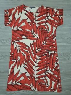HANIMCA Ladies Turkey Dress (RED - WHITE) (S - M - L - XL - XXL - 3XL)