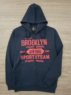 A.CASUALS Mens Turkey Sweatshirt Printed Hoodie (NAVY) (S - M - L - XL)