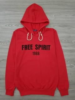 HAZARD Ladies Turkey Sweatshirt Printed Hoodie (RED) (S - M - L - XL)