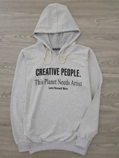 HAZARD Ladies Turkey Sweatshirt Printed Hoodie (GRAY) (S - M - L - XL)