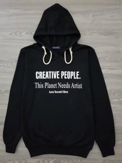 HAZARD Ladies turkey Sweatshirt Printed Hoodie (BLACK) (S - M - L - XL)
