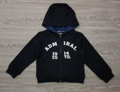 ADMIRAL Boys Hoodi (BLACK) (2 to 7 Years)