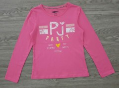 PEPPERTS Girls Long Sleeved Shirt (PINK) (6 to 14 years)