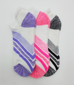 FITTER FIT FOR ME Ladies Socks 3 Pcs Pack (RANDOM COLOR) (FREE SIZE)