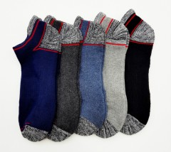 FITTER FIT FOR ME Mens Socks 5 Pcs Pack (AS PHOTO) (FREE  SIZE)