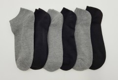 FITTER FIT FOR ME Mens Socks 6 Pcs Pack (GRAY - BLACK) (FREE SIZE)