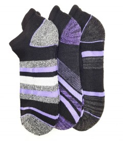 FITTER FIT FOR ME Ladies Socks 3 Pcs Pack (BLACK) (FREE SIZE)