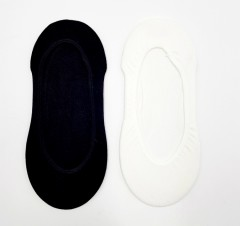 PROACTIVE Ladies Foot Liners 2 Pcs Pack (BLACK - WHITE) (FREE SIZE)