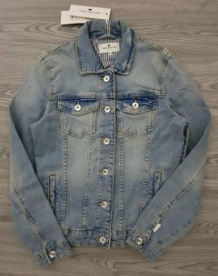TOM TAILOR Ladies Jeans Jacket (BLUE) (XS - S - M - L - XL - XXL - 3XL)