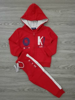 OKAIDI Kids Hoody Set (RED) (80 CM to 110 CM)