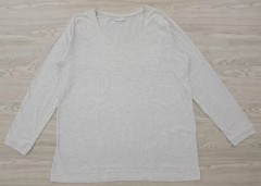 JANINA Ladies Blouse (GRAY) (46 to 58 EURO)