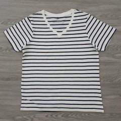 EHY Ladies T-Shirt (WHITE - BLACK) (S - M - L - XL)