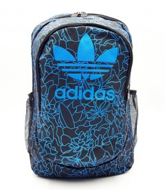 ADIDAS Back Pack (BLACK-BLUE) (Os) (ARC)