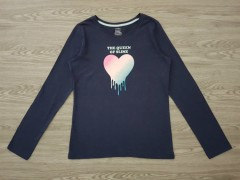 GEORGE Girls Long Sleeved Shirt (NAVY) (4 to 16  years)
