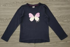 GEORGE Girls Long Sleeved Shirt (NAVY) (3 to 7 years)