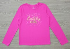 GEORGE Girls Long Sleeved Shirt (PINK) (4 to 16 years)