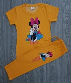 KIDDIES Girls 2 Pcs Pyjama Set (YELLOW) ( 2 to 6 Years)