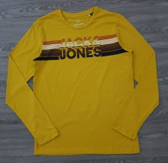 JACK AND JONES Boys Long Sleeved Shirt (YELLOW) (10 to 14 Years)