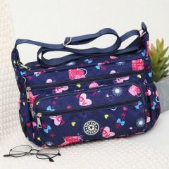 Ladies Bags (NAVY - PINK) (Os)