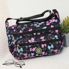 Ladies Bags (BLACK - PINK) (Os)