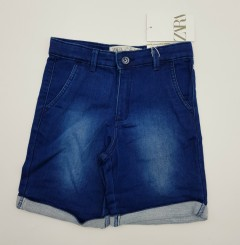 ZARA Girls Short (DARK BLUE) (18 Months to 7 Years))