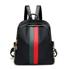 Back Pack (BLACK - GREEN) (Os)