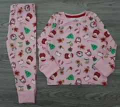 MERRY and BRIGHT  Girls 2 Pcs Pyjama Set (PINK) (3 to 8 years)