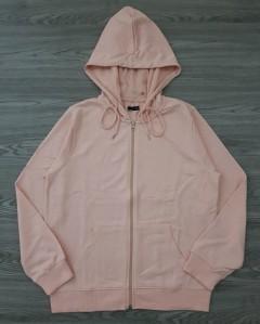 LEFTIES Ladies Zipper Hoody (PINK) ( L )