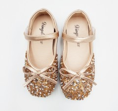 Girls Shoes (GOLD) (26 to 30)