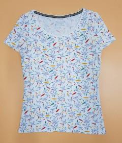 ESPRIT Ladies T-Shirt (WHITE) (XS - S - M - L - XL - XXL)